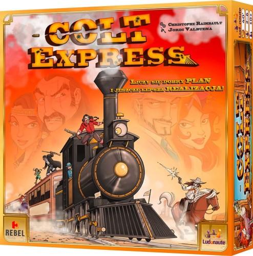 Colt Express (edycja polska) w zestawie z matą do gry