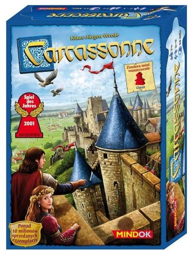Carcassonne (wydanie 2015) + mini dodatek Opat