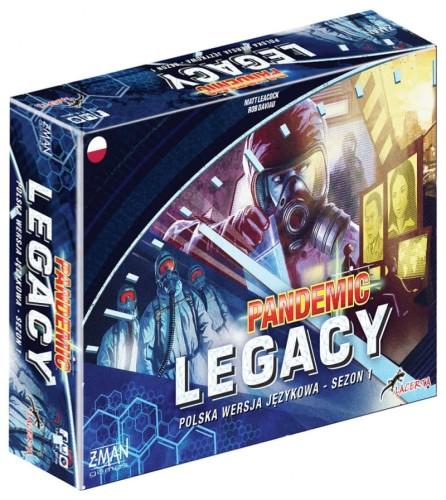 Pandemic Legacy: sezon 1 (niebieska)